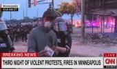 مراسل CNN يروى تفاصيل اعتقاله وإطلاق سراحه أثناء تغطيته لاحتجاجات منيابوليس