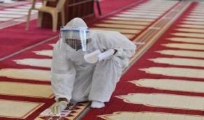شاهد.. مساجد الرياض تستعد لاستقبال المصليين من جديد