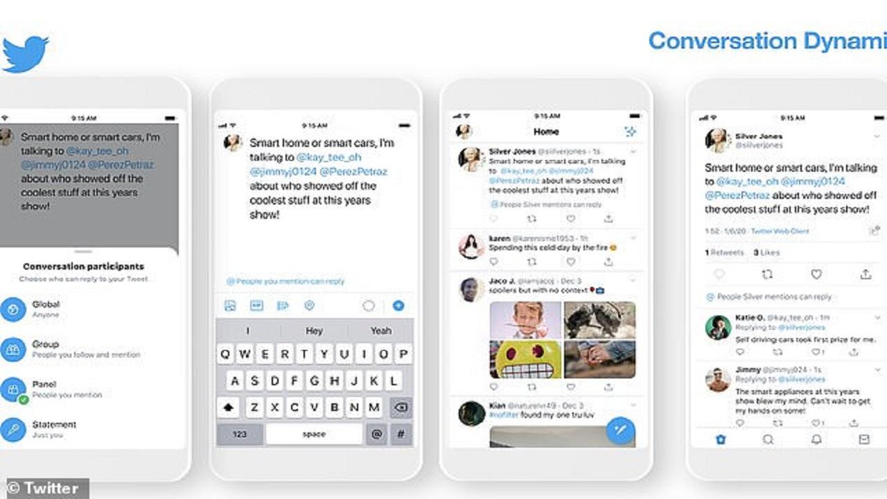 «تويتر» تطلق ميزة جديدة للتحكم بالتعليقات