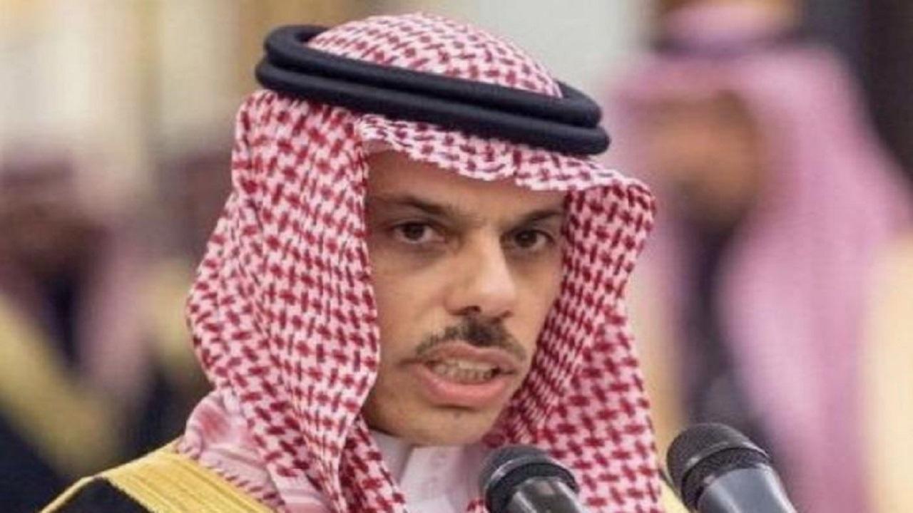 وزير الخارجية يؤكد قرب عودة سفير المملكة إلى العراق لمزاولة عمله