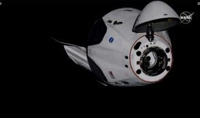 بالفيديو..مركبة «كرو دراغون» تلتحم بمحطة الفضاء الدولية