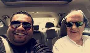شاهد.. قصة مؤثرة للفنان عبدالمجيد الرهيدي مع الراحل حسن حسني