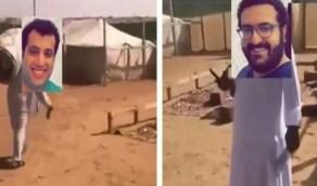 شاهد.. آل سويلم وآل الشيخ في مقطع ساخر بعد مباراةالبلايستيشن
