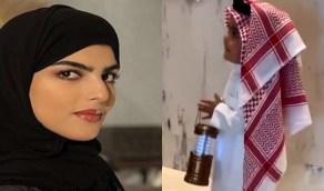 بالفيديو..ابن سارة الودعاني يخطف الأنظار في العيد