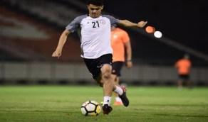 لاعب الشباب يدخل المرحلة الثانية من التأهيل استعدادًا لعودة النشاط