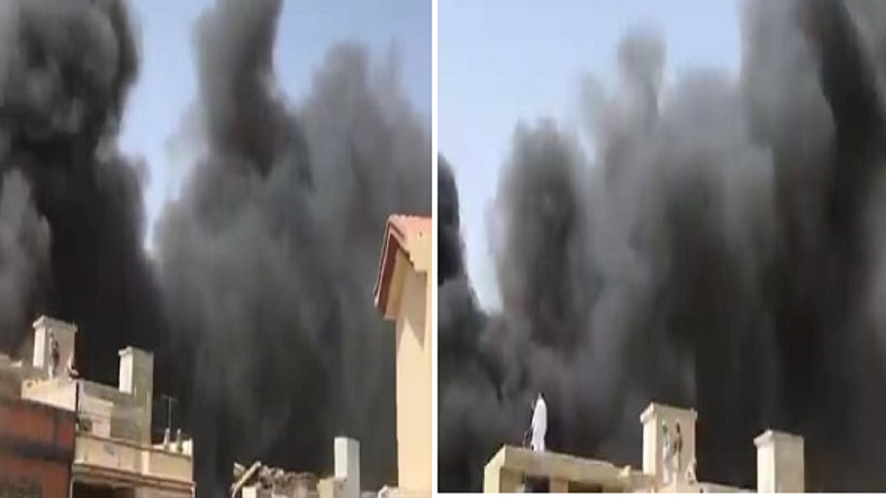 بالفيديو.. أول مشاهد من موقع تحطم طائرة باكستانية على متنها 107 راكب