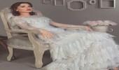 بالصور .. سيرين عبد النور تتألق بفستان أبيض