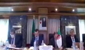 بالفيديو.. وزير الطاقة الجزائري يبعث برسالة شكر إلى المملكة
