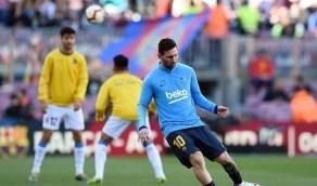 """""""ميسي"""" يعود لتدريبات برشلونة بعد غيابه المثير للقلق"""