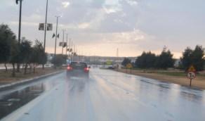 هطول أمطار رعدية على 4 مناطق