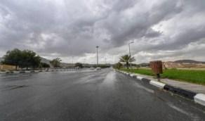 هطول أمطار رعدية على محافظتي الطائف وميسان