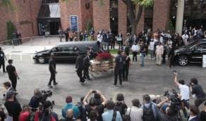بالصور.. تشييع جثمان جورج فلويد ضحية العنصرية بأمريكا