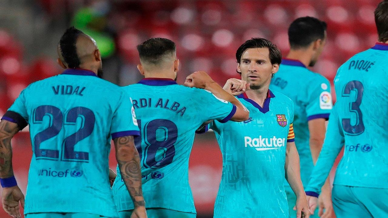 برشلونة يسحق ريال مايوركا برباعية نظيفة