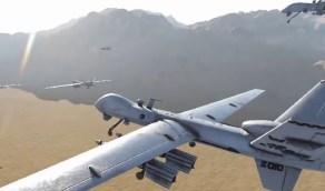 «التحالف» يعترض ويسقط طائرتين بدون طيار «مسيّرة» أطلقتهما المليشيا الحوثية تجاه المملكة