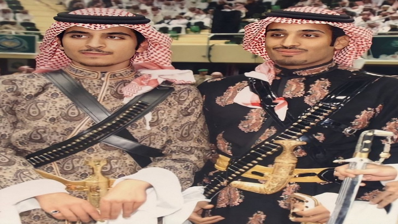 صورة نادرة لولي العهد مع ابن عمه الأمير مشعل