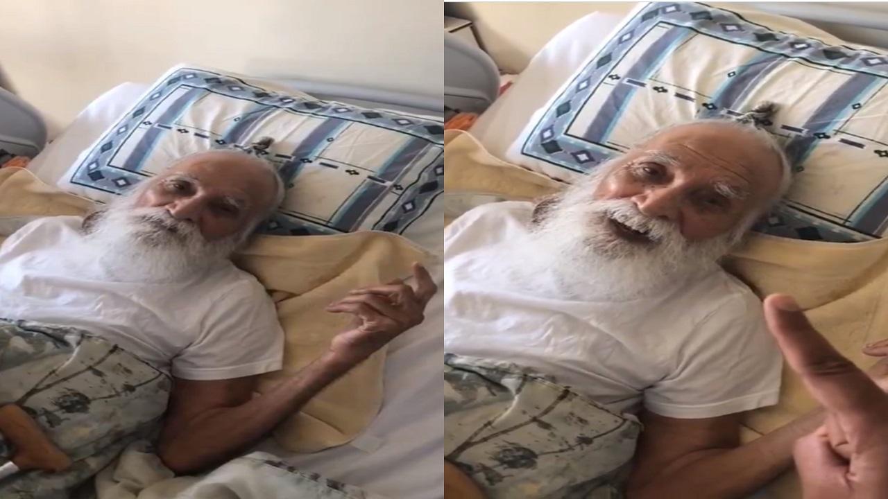بالفيديو..مسن هندي يدخل الإسلام بعمر الـ 105 عامًا