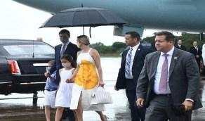بالصور إيفانكا ترامب تخطف الأنظار بفستانها الأبيض