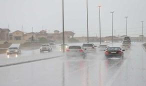هطول أمطار على محافظتي الطائف والعرضيات