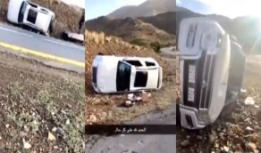 بالفيديو..أمير عسير يهدي سيارة لمتطوعين تعرضا لحادث أثناء توصيل الأدوية