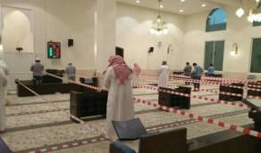 السبب وراء إزالة الحواجز في مسجد بالرياض