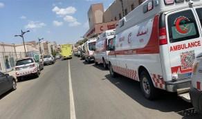 """""""الهلال الأحمر"""" بالطائف تستعد بـ 15 فرقة إسعافية لإخلاء الحالات من مجمع الملك فيصل"""