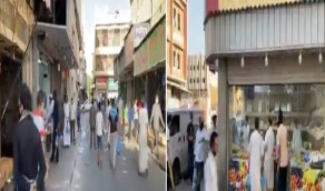 بالفيديو .. رصد مقيمين غير ملتزمين بالإجراءات الاحترازية في الدمام