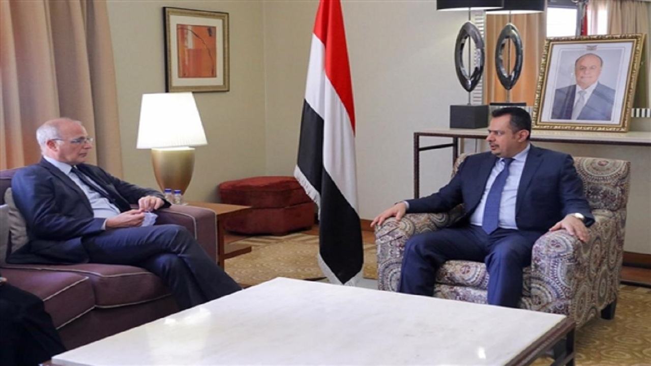 رئيس الوزراء اليمني: ندعو إلى التعاطي بجدية مع جهود المملكة