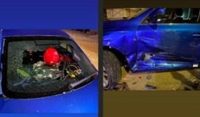 لاعب الأهلي المصري يتعرض لحادث مروع