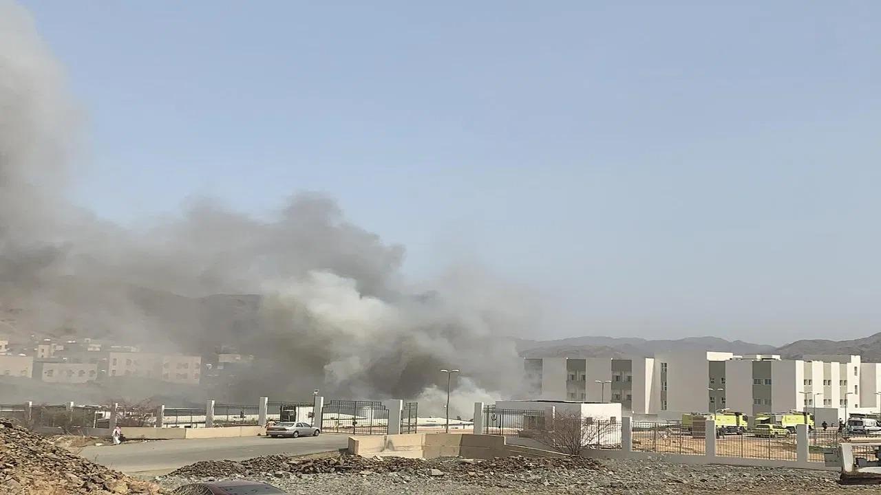 «صحة الباحة» تكشف تفاصيل حريق مستشفى المخواة الجديد