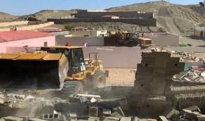 إزالة تعديات على 34 ألف متر في فيحاء مكة