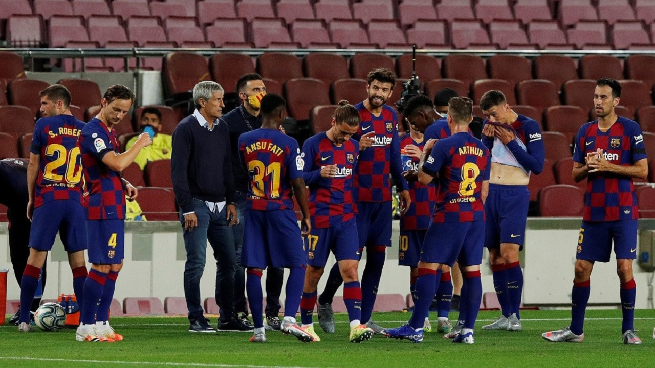 مواجهة اتلتيكو مدريد فرصة أخيرة لمدرب برشلونة