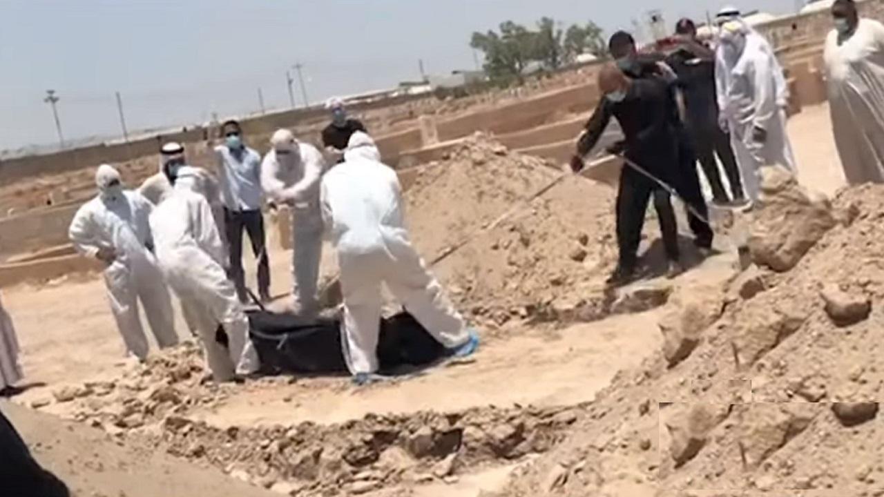 شاهد.. تشييع جثمان نجم الكرة العراقية أحمد راضي