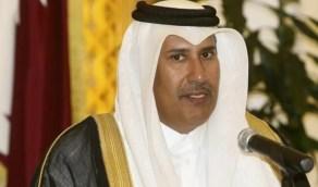حمد بن جاسم يتخبط في أول ظهور له بعد التسريبات