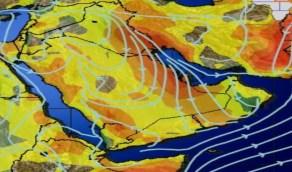 بالصور.. «الحصيني»: نشاط رياح البوارح على حوض الخليج العربي