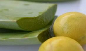 ماسك الصبار والليمون لتفتيح البشرة