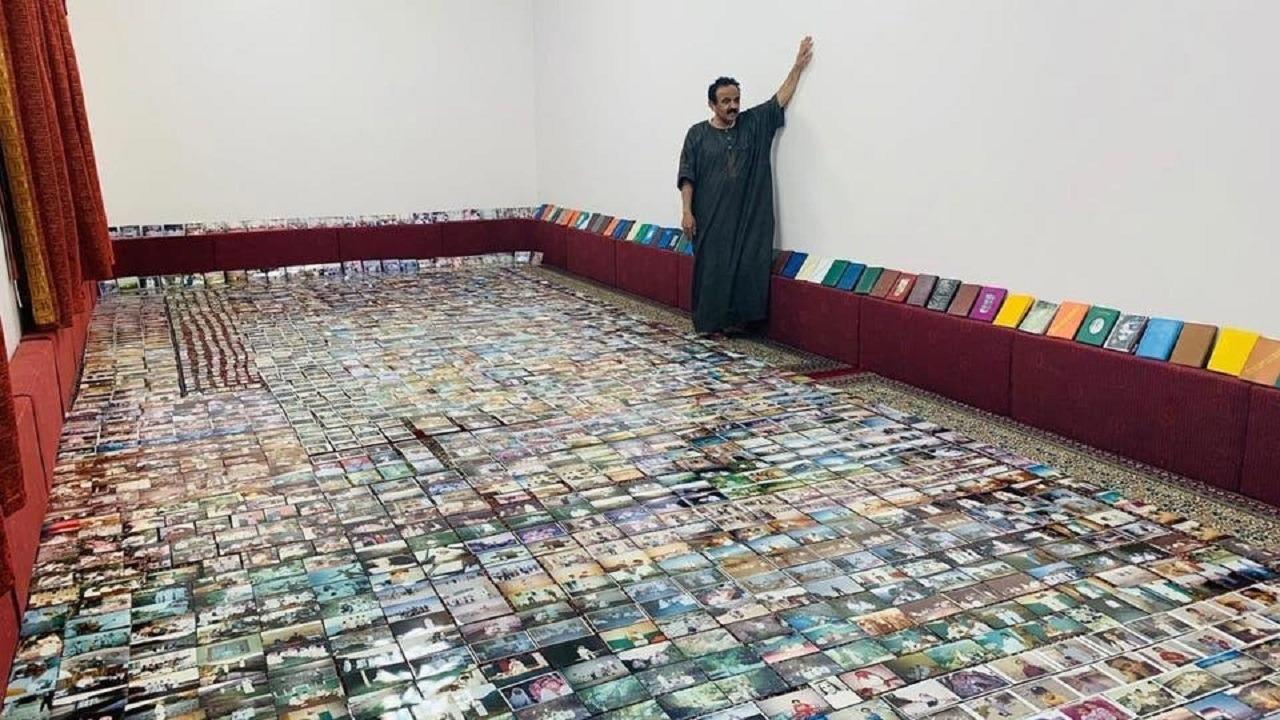 بالصور.. مواطن يجمع أكثر من 3000 صورة لقريته بالباحة على مدار 75 عام