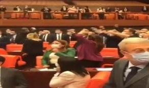 """نواب بالبرلمان التركي يهتفون ضد """" العدالة والتنمية """": حزب انقلابي وعدو للديمقراطية"""