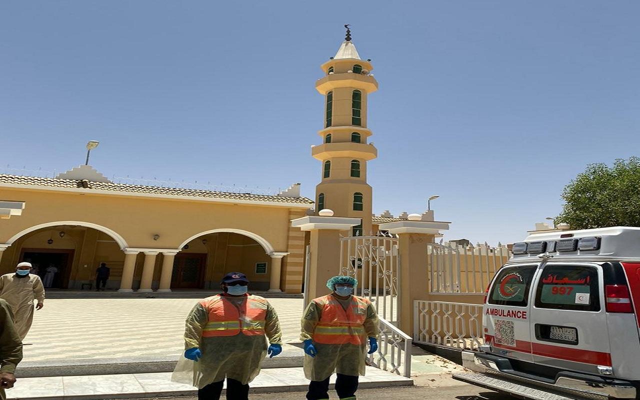 فريق التطوع يقيم نقاط فرز لـ 23 جامع بمنطقة الرياض