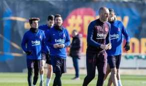تخفيض جديد لرواتب لاعبي برشلونة