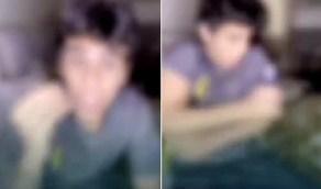 بالفيديو.. القبض على الصبي الذي أساء للفتيات وإحالته لدار الملاحظة بالجوف