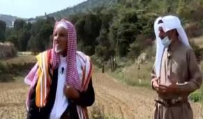 بالفيديو.. قصة مزارع تمسك بأرضه في عسير لـ90 عاما