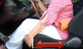 تعرف على الطرق الآمنة للجلوس في السيارة