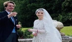 شقيقة ملك الأردن تعقد قرانها في بريطانيا