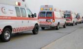 """إصابات في حادث اصطدام مركبتين على طريق """" الساحل """""""