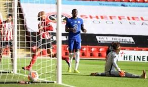 شيفيلد يونايتد يفوز على تشيلسي بثلاثية في الدوري الإنجليزي