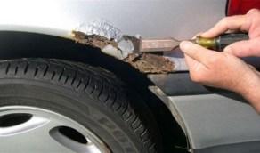 نصائح لمعالجة صدأ السيارة