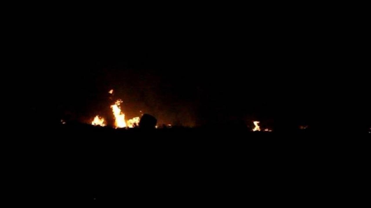 قصف تركي شمال العراق ليلة العيد