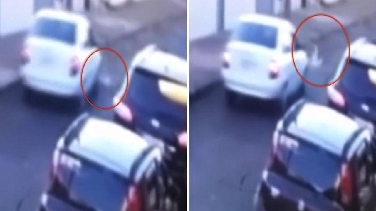 بالفيديو.. معجزة نجاة طفل بعد دهسه بسيارة