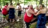 بالفيديو.. أمريكيون بيض ينقضون على رجل أسود
