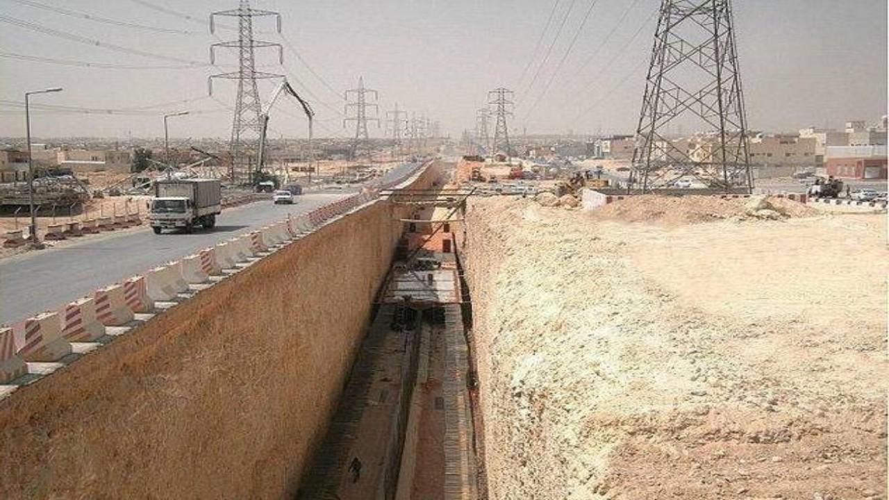 إنشاء شبكات تصريف السيول في 24 حيًا بالرياض